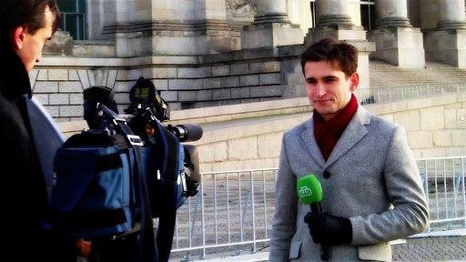 Russian TV reporter NTV