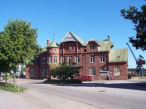 Sölvesborg - Sölvesborg railway station