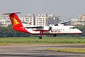 S2-AHA Bombardier Dash 8-Q314 Regent Airways Landing (8306317526).jpg