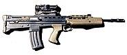 SA-80 rifle 1996