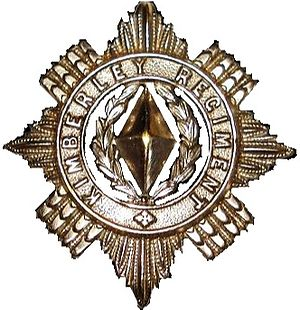Kimberley Regiment - SANDF Regiment Kimberly emblem