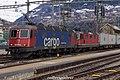 "SBB CFF FFS Cargo Re 620 074-5 ""Murgenthal"" + Re 420-430 (24923395032).jpg"