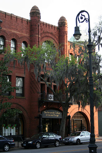 Savannah College of Art and Design - Poetter Hall, originally Preston Hall, was SCAD's first building and first historic restoration project.