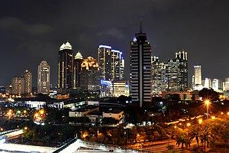 Economy of Indonesia - Image: SCBD, Jakarta