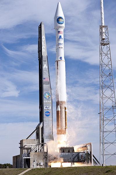 SDOs startete mit einer Atlas V(401)-Rakete am 11. Februar 2010