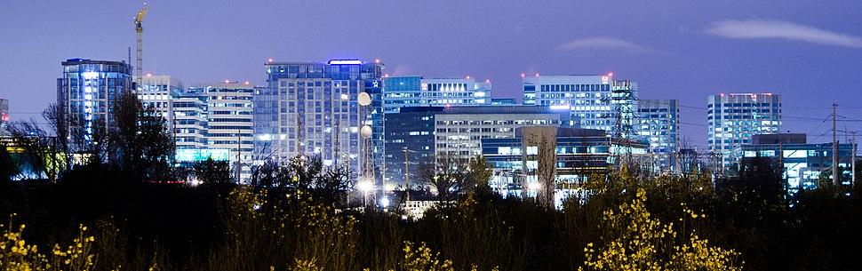 SJ skyline at night horizontal