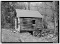 SOUTH SIDE - Alfred Raegan Tub Mill, Roaring Fork Trail, Gatlinburg, Sevier County, TN HABS TENN,78-GAT.V,4-2.tif