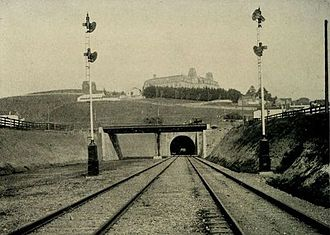 History of the Southern Pacific - SP tunnel into San Francisco, ca.1900