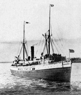 SS Valencia - Valencia, circa 1905