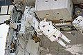 STS-131 EVA3 Rick Mastracchio and Clayton Anderson 2.jpg