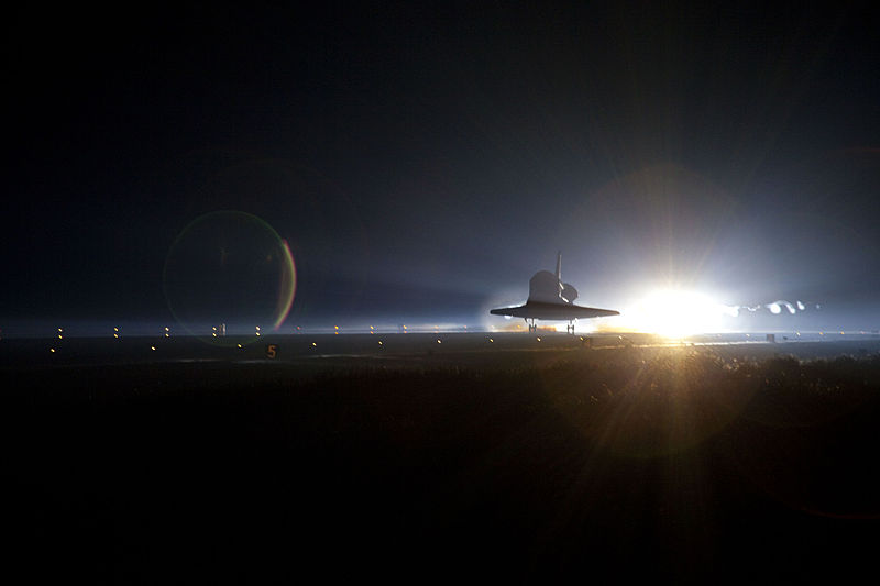 File:STS-135 Space Shuttle Atlantis makes its final landing 11.jpg