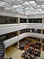 SZ 深圳香格里拉大酒店 Shangri-La Hotel Shenzhen interior void courtyard restaurant Lobby Lounge restaurant n ceiling April 2016.JPG