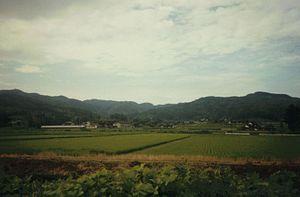 Sado, Niigata - Kuninaka Plain near Niibo