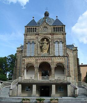 Basilique notre dame de bon secours de saint avold wikip dia for Piscine de saint avold