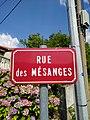 Saint-Just-d'Avray - Rue des Mésanges - plaque (août 2018).jpg