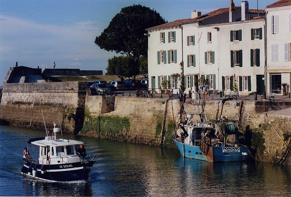 Saint-Martin-de-Ré - quai Georges Clémenceau (2)