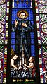 Saint Augustine Catholic Church (Minster, Ohio) - stained glass, St. John Bosco.jpg
