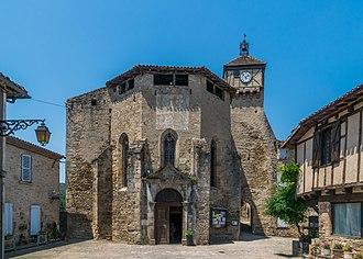 Penne, Tarn - The church of Sainte Catherine de Penne