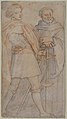 Saint Michael and Saint Giovanni Gualberto (after Andrea del Sarto's Vallombrosa Altarpiece) MET 80.3.110.jpg