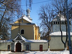 Saint Nicholas church in Buchach 2012-01-29.jpg