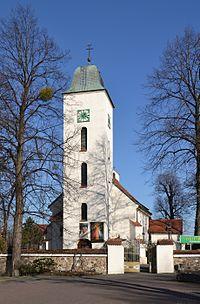 Saint Nicholas church in Mikołów-Bujaków (Nikolai-Bujakow).JPG