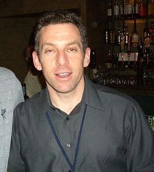 American writer Sam Harris.
