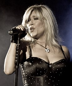 Samantha Fox v roku 2010