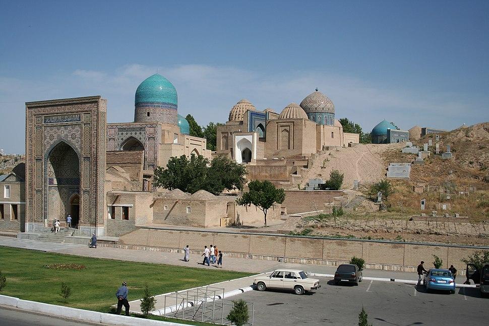 Samarkand Shah-i Zinda general view