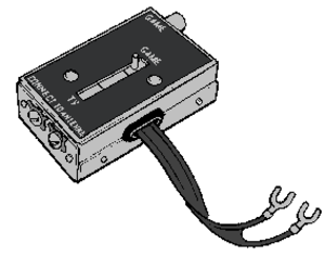 Video game accessory - Early style antenna switch box