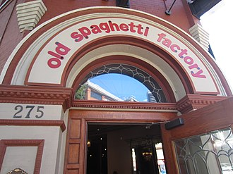 The Old Spaghetti Factory - Image: San Diego, 2016 137