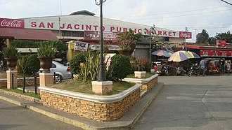 San Jacinto, Pangasinan - Image: San Jacinto Public Market in Pangasinan
