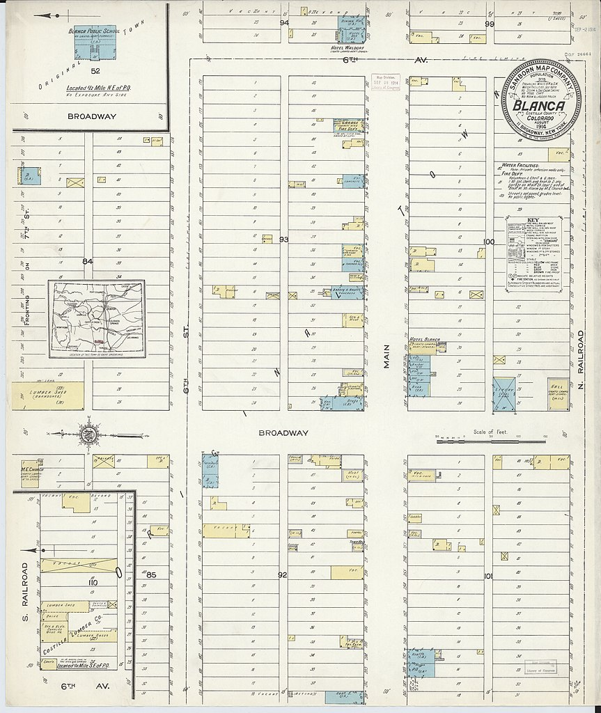 File Sanborn Fire Insurance Map From Blanca Costilla County