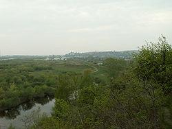 Góry Pieprzowe i panorama na miasto