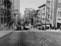 Άποψη της πόλης το 1945