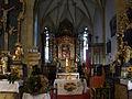 Sankt Johann am Tauern - Pfarrkirche hl Johannes der Täufer - Altarraum.jpg