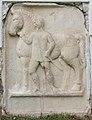 Sankt Veit Sankt Donat Pfarrkirche hl. Donatus röm. Reliefstein Pferdeknechtdarstellung 18102015 8119.jpg