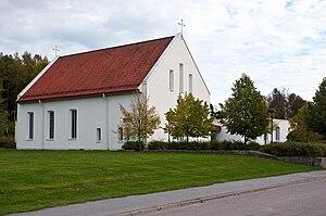 Arnö - Image: Sankta Katarina kyrka Arnö2 sept 2010