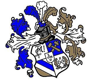 Weinheimer Senioren-Convent - Image: Saxo Montania Wappen
