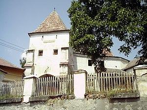 Dârlos - Fortified church of Curciu