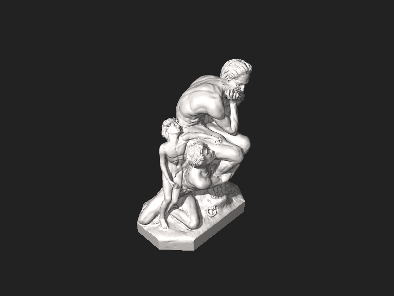 Bestand:Scan the World - Ugolino and His Sons.stl