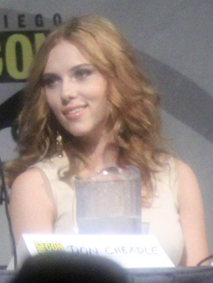 Scarlett Johansson SDCC 2009 1