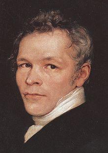 Karl Friedrich Schinkel 1826, Gemälde von Carl Begas (Quelle: Wikimedia)
