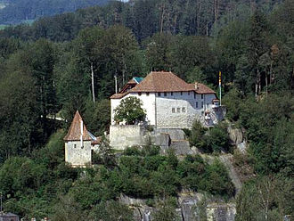 Laupen Castle - Laupen Castle as seen from the south