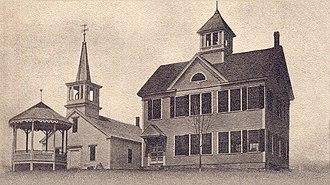Freedom, New Hampshire - Schoolhouse in 1911