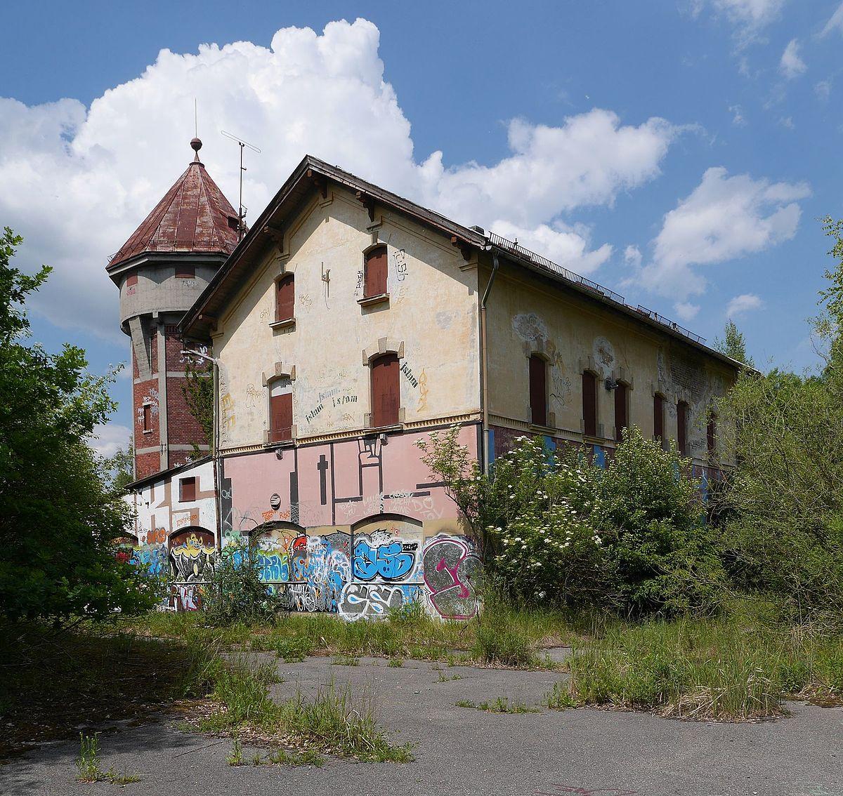 Ehemaliges Betriebsgebäude der Kirchseeoner Schwellenfabrik