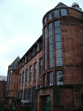 Education in Scotland in the twentieth century - The Scotland Street School, designed by Charles Rennie Mackintosh and built 1903–06