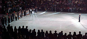 Scott Hamilton (figure skater) - Hamilton's final performance on the Stars on Ice tour