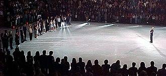 Scott Hamilton (figure skater) - Hamilton's final performance on the Stars on Ice tour