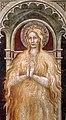 Scuola fiorentina di taddeo gaddi, santa maria maddalena e una devota, 1373, 03.jpg