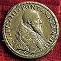 Scuola romana, medaglia di giulio III, 1553.JPG